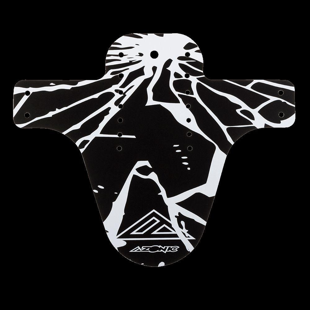 Obrázek produktu Blatník přední Azonic SPLATTER ENIGMA černá/bílá 3080-104