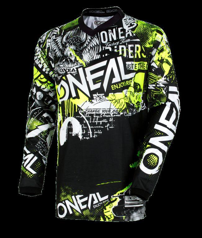 Obrázek produktu Dětský dres O'Neal Element ATTACK černá/žlutá