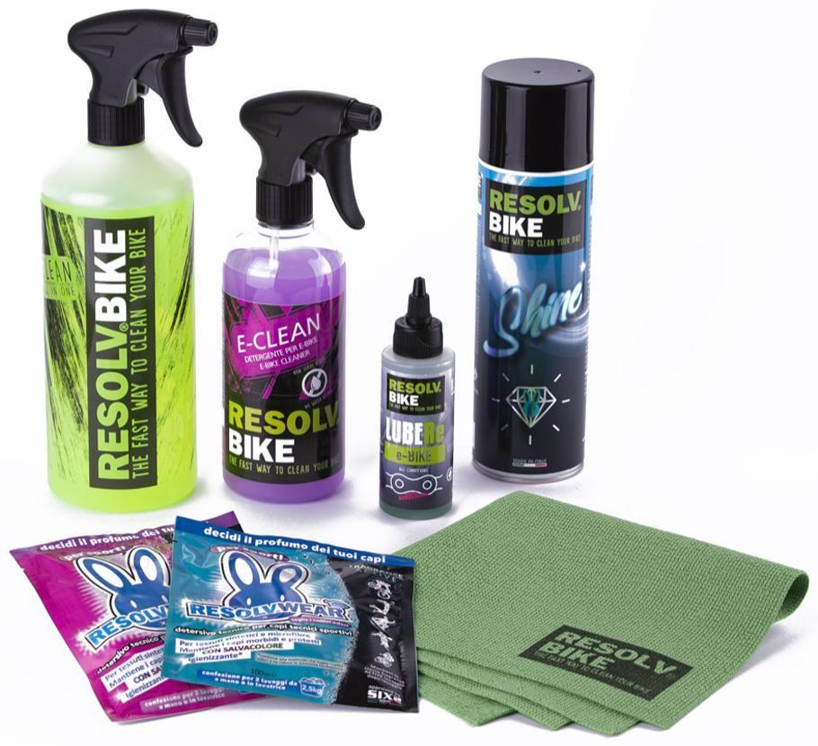 Obrázek produktu ResolvBike E-BIKE čistící sada velká RE-1017-7