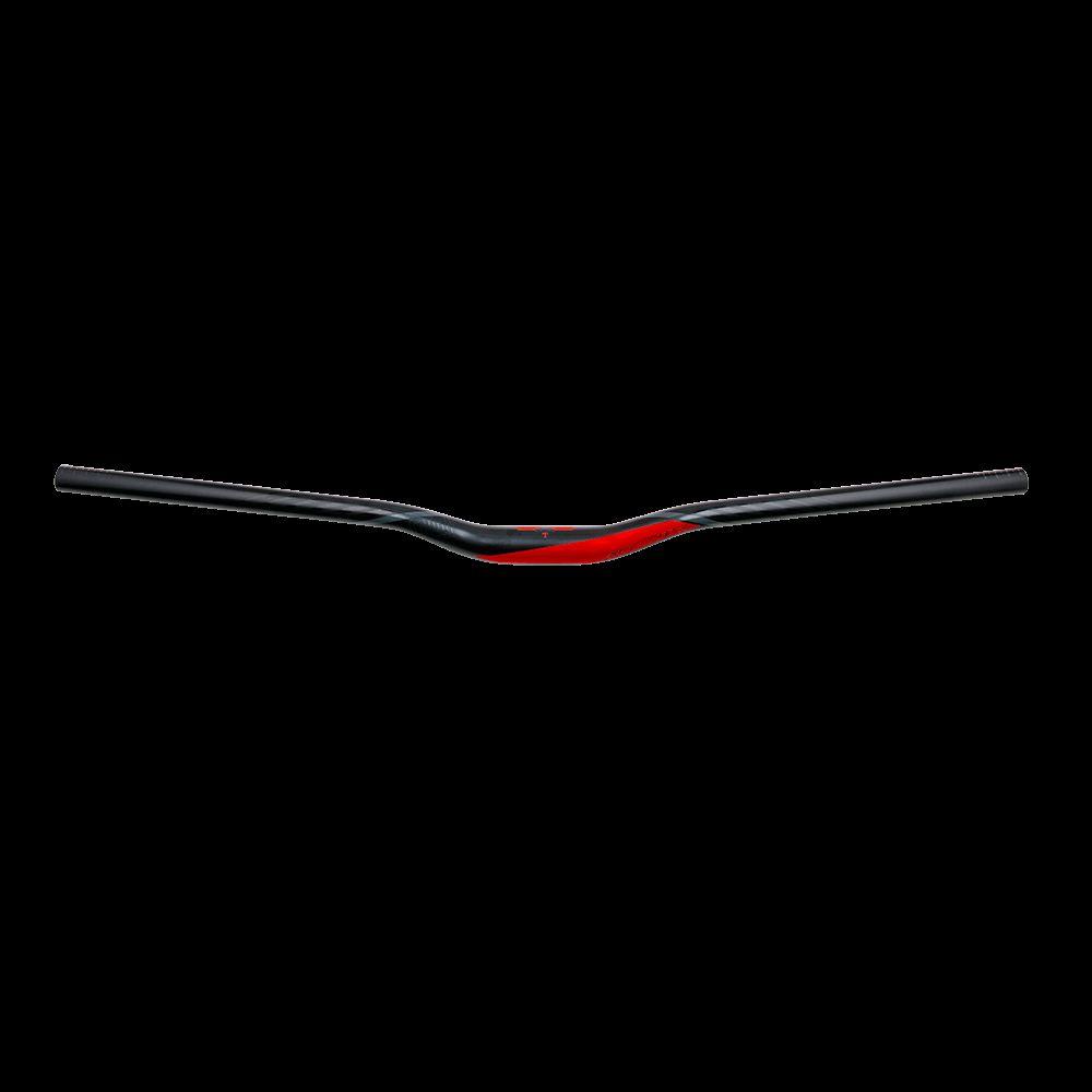 """Obrázek produktu Řídítka Azonic FLOW 1"""" 31,8/ 750mm černá/červená 3011-004"""