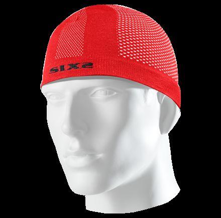 Obrázek produktu SIXS SCX čepice pod přilbu červená SCX-06