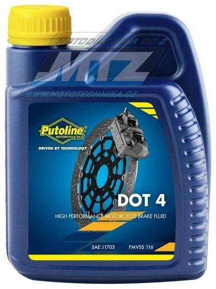 Obrázek produktu Kapalina brzdová Putoline DOT4 (balení 500ml) (74040)