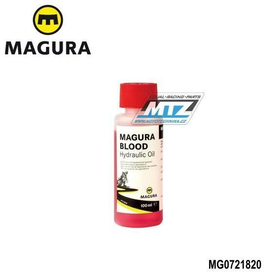 Obrázek produktu Originální kapalina do hydraulických spojek a brzd magura 100ml (pozice 30) MG0721820