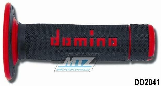 Obrázek produktu Rukojeti/Gripy Domino černo-červené (3104)
