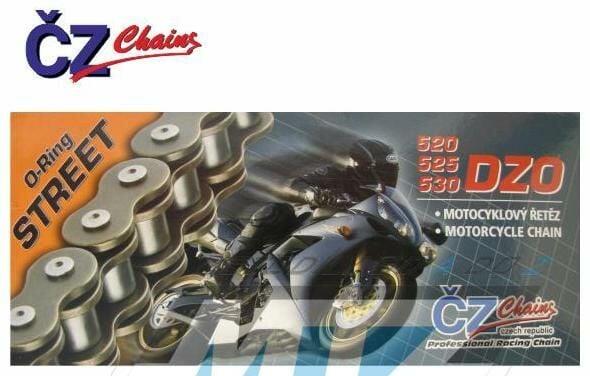 Obrázek produktu Řetěz ČZ 530 DZO (118čl) - těsněný/ o kroužkový (retez-cz-525dzo)