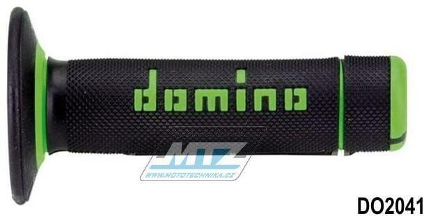 Obrázek produktu Rukojeti/Gripy Domino černo-zelené (3107)