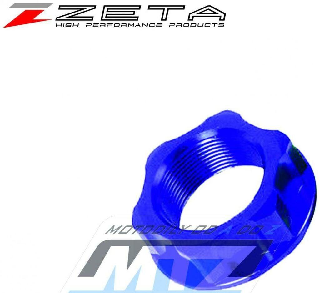 Obrázek produktu Matice krku řízení ZETA - modrá - Kawasaki KX125/ 04-08 + KX250/ 04-08 + KX250F/ 04-18 + KX250/ 19-21 + KX450F/ 06-18 + KX450/ 19-20 + KLX450R/ 08-09 + KX250X/ 21 + KX450X + Suzuki RMZ250/ 04-06 + RMX