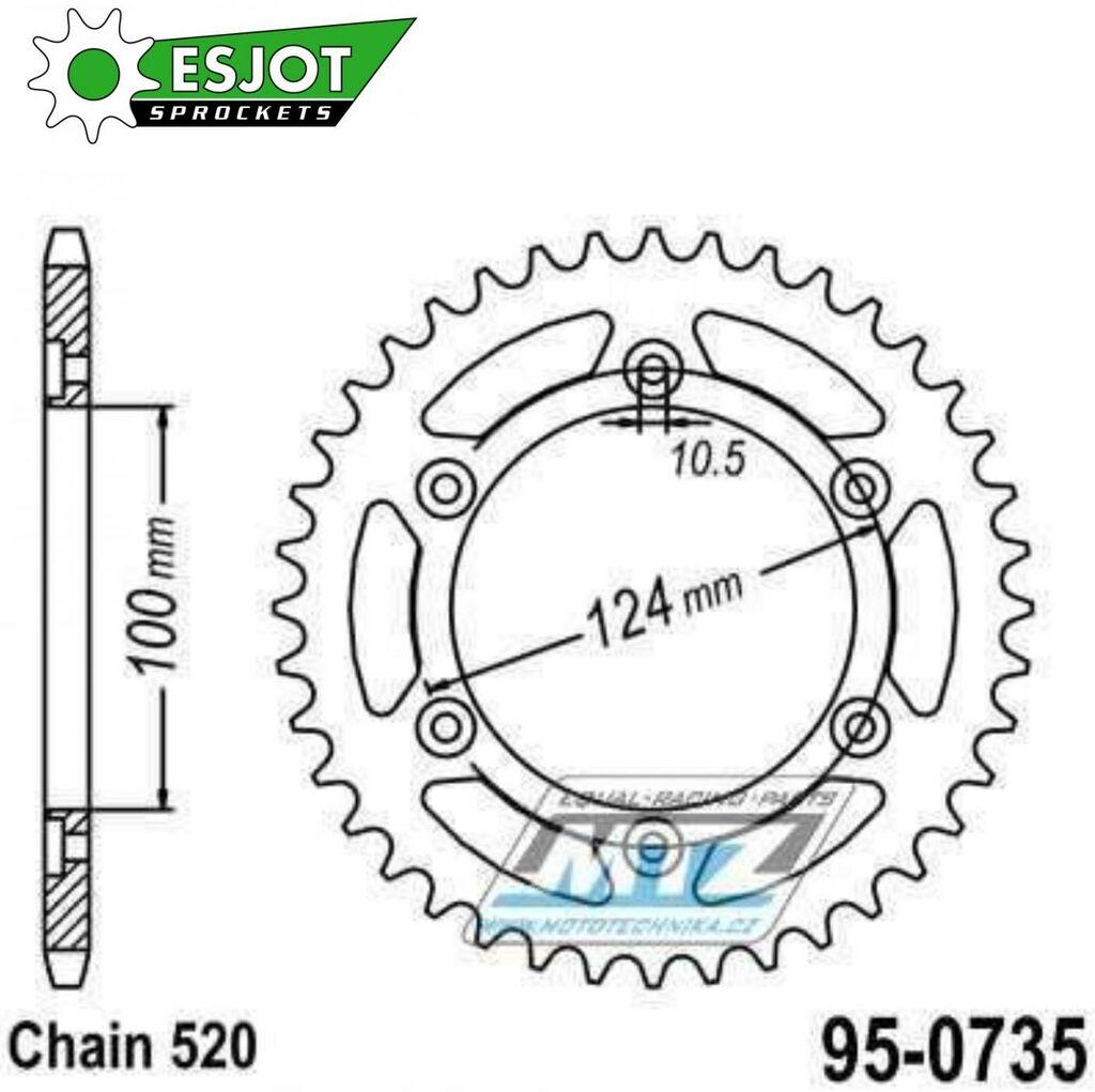 Obrázek produktu Rozeta Ocel 0735-39z ESJOT