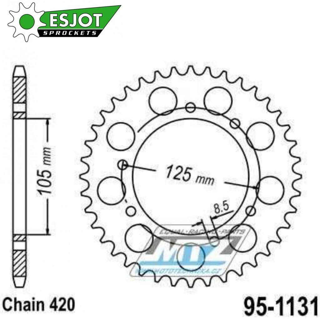 Obrázek produktu Rozeta Ocel 1131-48 ESJOT (95-1131)