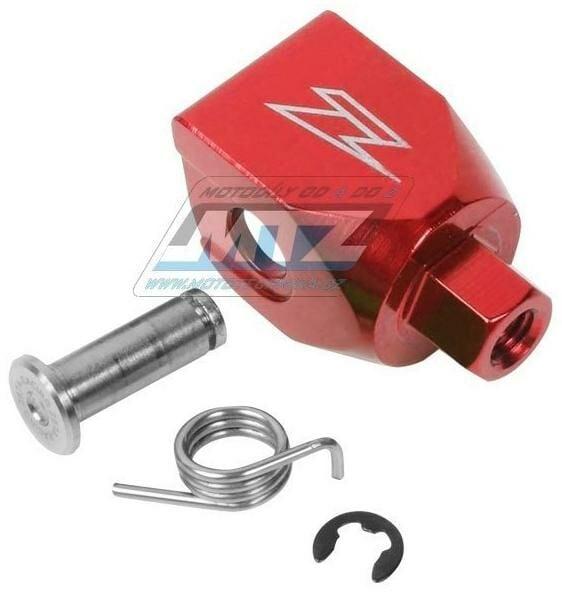 Obrázek produktu Koncovka řadičky Zeta - přímá - červená (ze903902)