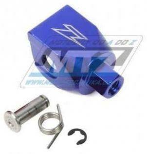 Obrázek produktu Koncovka řadičky Zeta - přímá - modrá (ze903906)