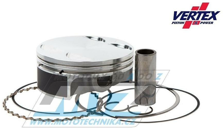 Obrázek produktu Píst KTM 520+525SX+EXC / 00-07 + 450SMR + Beta RR525 / 05-09 + KTM 525ATV / 07-12 + Polaris 525Outlaw / 08-11 - rozměr 94,95mm (01.6521.B-VE)