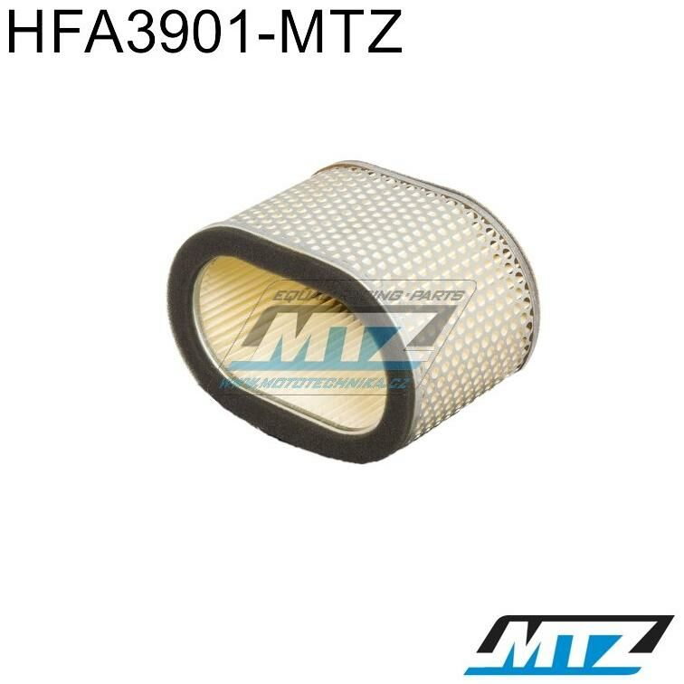 Obrázek produktu Filtr vzduchový HFA3901-MTZ - Cagiva 1000 Raptor + 1000 V-Raptor + 1000 Xtra-Raptor + Suzuki TL1000 S (hfa3901-vodoznak)