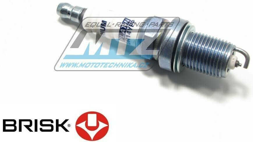 Obrázek produktu Svíčka motocyklová zapalovací Brisk - DR14YP (2723)