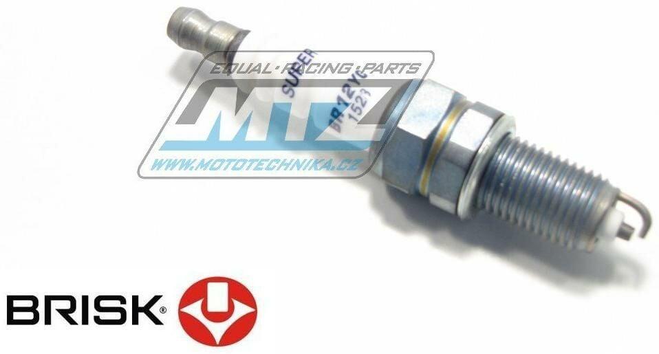 Obrázek produktu Svíčka motocyklová zapalovací Brisk - BR12YC (2742)