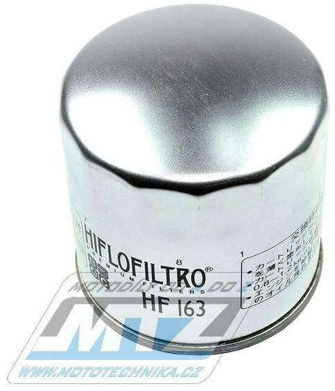 Obrázek produktu Filtr olejový HF163 (MTZ) - BMW K75 + R850C + R850R + K1 + K100 + K1100 + R1100 + R1150 + K1200 + R1200 (404)