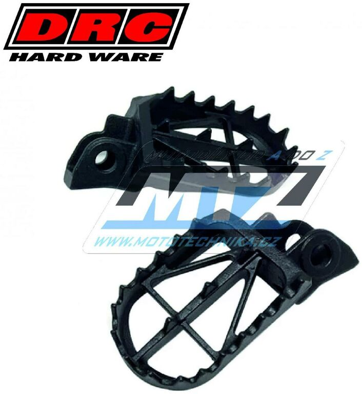Obrázek produktu Stupačky DRC - Suzuki RM85 / 02-19 + Kawasaki KDX125 / 90-99 + KDX200 / 89-93 (stupacky-drc-df4802561)