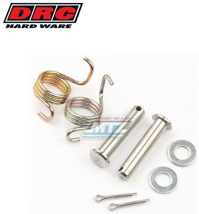 Obrázek produktu Sada čepů + pružin stupaček Honda XR400R+XR250R / 96-04 + XR600R / 92-00 + XR650L / 92-16 (df4801106)