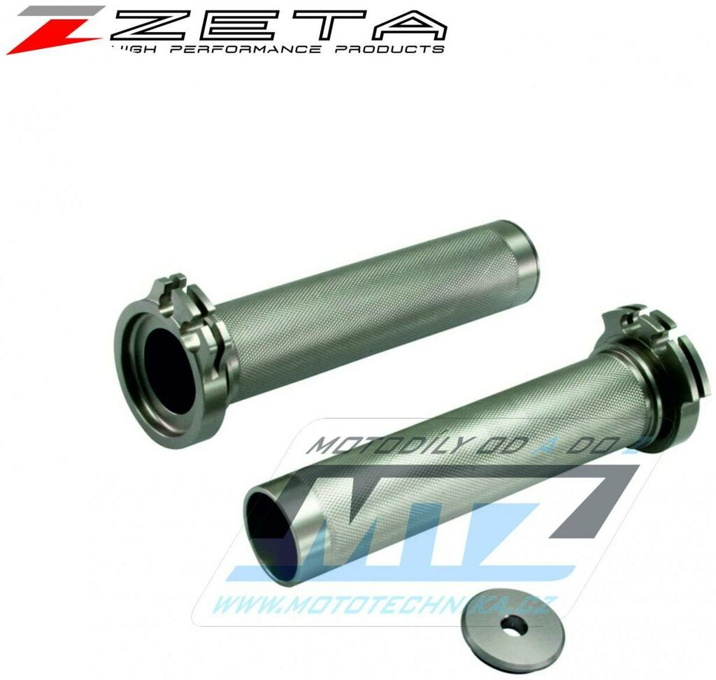 Obrázek produktu Rukojeť plynu hliníková ALU - Kawasaki KX250+KX450 / 19-21 + KXF250+KXF450 / 04-18 + Yamaha YZF250 / 98-11 + YZF400+426+450 / 98-13 + WRF250 / 01-14 + WRF450 / 98-15 + Suzuki RMZ450 / 05-06,08-20 + RM