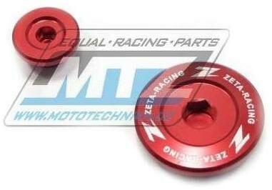 Obrázek produktu Zátky bočních vík motoru ZETA - Yamaha YZF250 / 01-13 + YZF400+YZF426+YZF450 / 98-05 + WRF250+WRF400+WRF426 / 98-02 + WR250R+WR250X / 07-20 + XT125+XT250 - červené (ze891410)