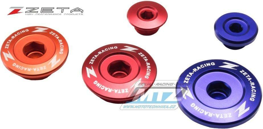 Obrázek produktu Zátky motoru ZETA červené - Yamaha YZF450 / 06-09 + YFZ450 / 04-09 + WRF250 / 03-09 + WRF450 / 03-13 (vicka-motoru-zeta-vodoznak)