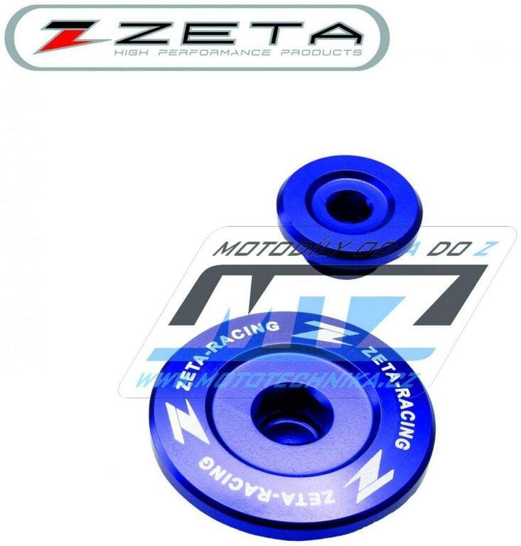 Obrázek produktu Zátky motoru ZETA modré - Yamaha YZF450 / 04-09 + WRF250 / 03-13 (motor-zatka-modr)