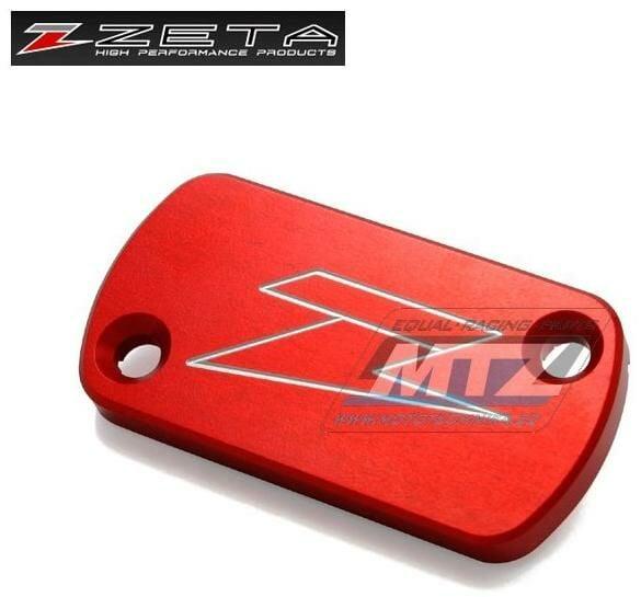 Obrázek produktu Kryt brzdové nádobky Nissin přední/zadní - červený (ze861103)