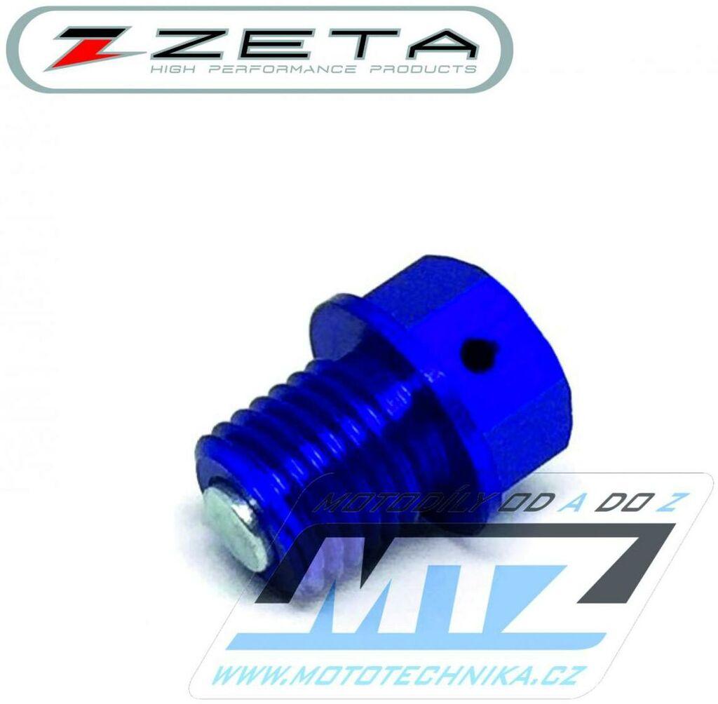 Obrázek produktu Magnetický vypouštěcí šroub M12x12mm (závit 1,5) - modrý (KTM + Husqvarna + Gas-Gas) (vypustny-sroub-ze58-1512)