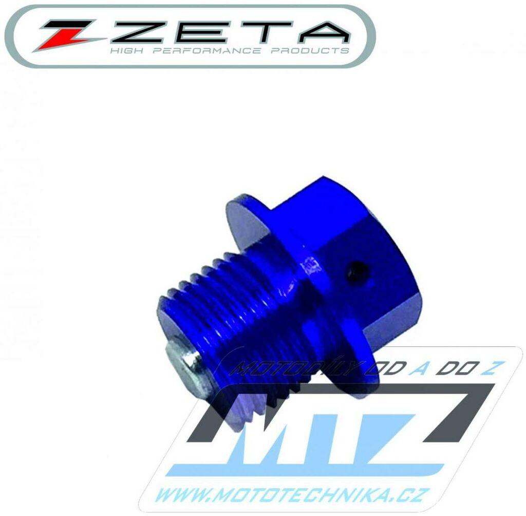 Obrázek produktu Magnetický výpustný šroub M14x10mm (závit 1,25) - modrý (Suzuki) (vypustny-sroub-ze58-1612)