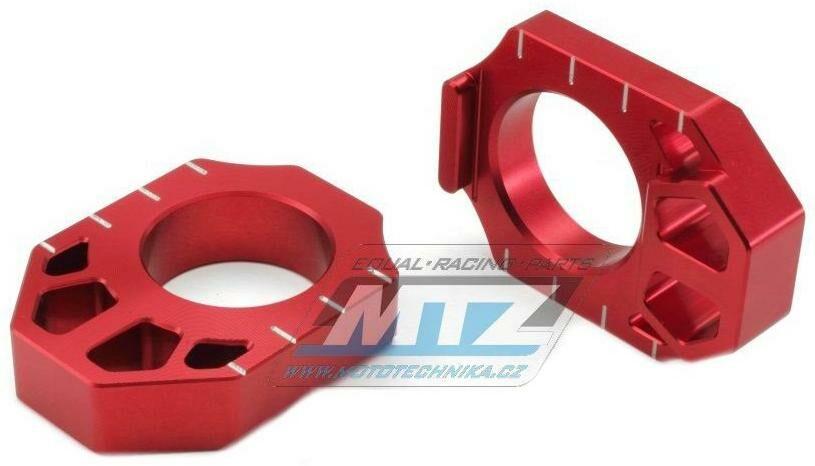 Obrázek produktu Dorazy osy zadního kola - Honda CR125+CR250 / 02-07 + CRF250R+CRF450R / 02-21 + CRF250RX+CRF450RX / 17-20 + CRF250X+CRF450X / 04-21 - červené (ze935-vodoznak)