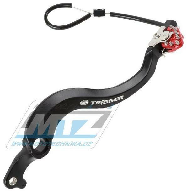 Obrázek produktu Pedál brzdy -  červený - Honda CRF250R / 04-21 + CRF450R / 05-21 + CRF250RX / 19-21 + CRF450RX / 17-21 (ze907012)