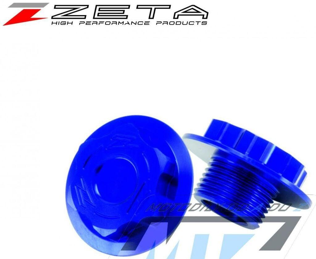 Obrázek produktu Šroub krku řízení ZETA - modrý - KTM 85SX/ 12-19+125SX+150SX+250SX+125EXC +200EXC+250EXC+300EXC+400EXC+450EXC+500EXC+ 520EXC+525EXC+530EXC/ 03-19 +250Freeride+350Freeride+690Enduro+SMC+Duke+950+990Adv