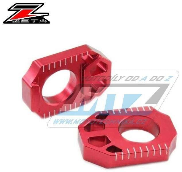 Obrázek produktu Dorazy osy zadního kola Yamaha YZ125+YZ250 / 99-17 + YZF400+YZF426+YZF250+YZF450 / 98-08 + WRF400+WRF426+WRF250+WRF450 / 98-17 + WR250R+WR250X / 07-17 - červené (ze935313)