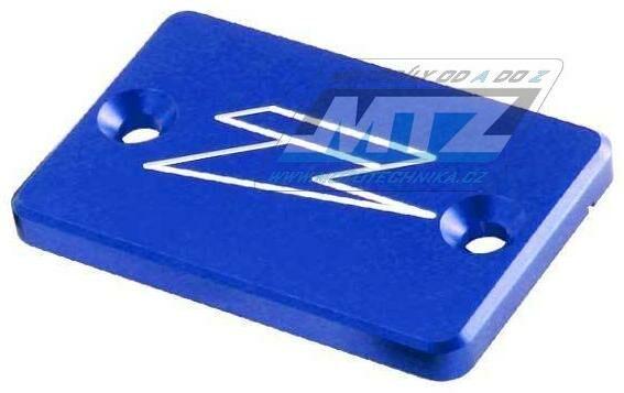 Obrázek produktu Kryt/Víčko brzdové a spojkové nádobky přední - modrý (ze861402)
