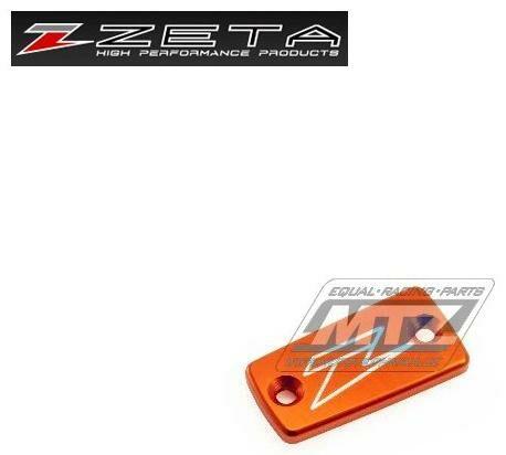 Obrázek produktu Kryt/Víčko brzdové a spojkové nádobky přední - oranžový (ze861410)