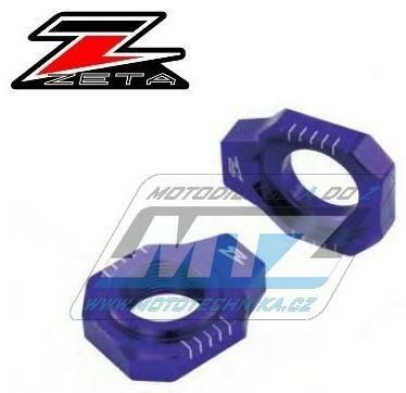 Obrázek produktu Dorazy osy zadního kola ZETA KTM 85SX / 03-14 + SX+SXF / 03-12 + EXC+EXCF / 00-20 + 250+350+400+450+500+530EXC / 00-20 + Husaberg FE+FC+FS+TE / 04-13 + Husqvarna FE+FC+TE+TC - modré (ze935422)