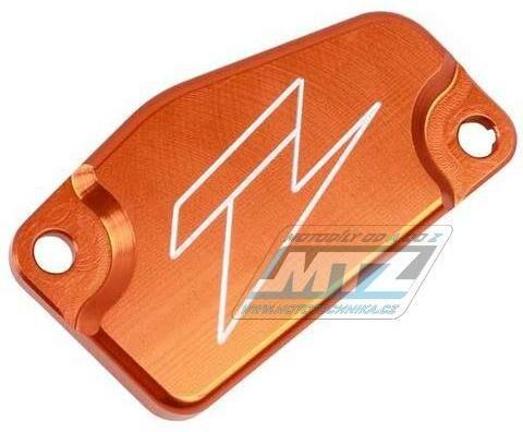 Obrázek produktu Kryt/Víčko brzdové nádobky přední KTM 65SX / 14-19 + 85SX / 13-19 + Husqvarna TC85 - oranžové (ze863210)