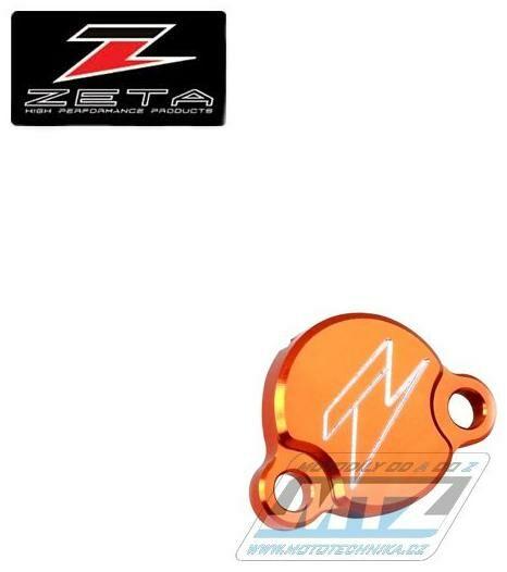 Obrázek produktu Kryt/Víčko brzdové nádobky zadní KTM 50SX+65SX+85SX - oranž (ze867210)