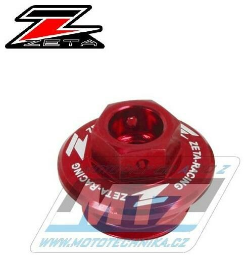 Obrázek produktu Zátka oleje nalévací ZETA - Honda CRF150R+CR125+CR250+CRF250R+CRF450R + CRF450X+CRM250R+CRF250L+TRX450R/RX + Yamaha YZ80+YZ85+YZ125+YZ250+YZF250+YZF450 + WRF250+WRF450+WR250R+WR250X+YFZ450 + Kawasaki