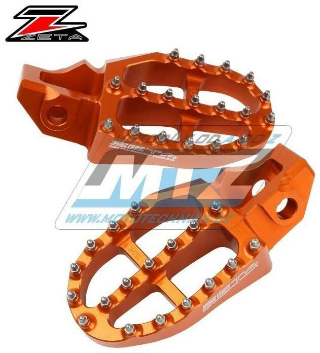 Obrázek produktu Stupačky ZETA Racing Alu - KTM KTM 85SX/ 18-21+250SX/ 17-21+125SXF+250SXF +450SXF / 16-21 + 125EXC+150EXC+250EXC+300EXC+530EXC+125EXCF+250EXCF+350EXCF +450EXCF+500EXCF+530EXCF / 17-21 +125XC+300XC/17-