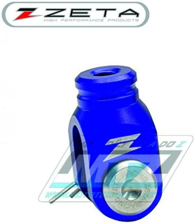 Obrázek produktu Klema zadní brzdové pumpy ZETA - modrá (klema-brzdy-modr)