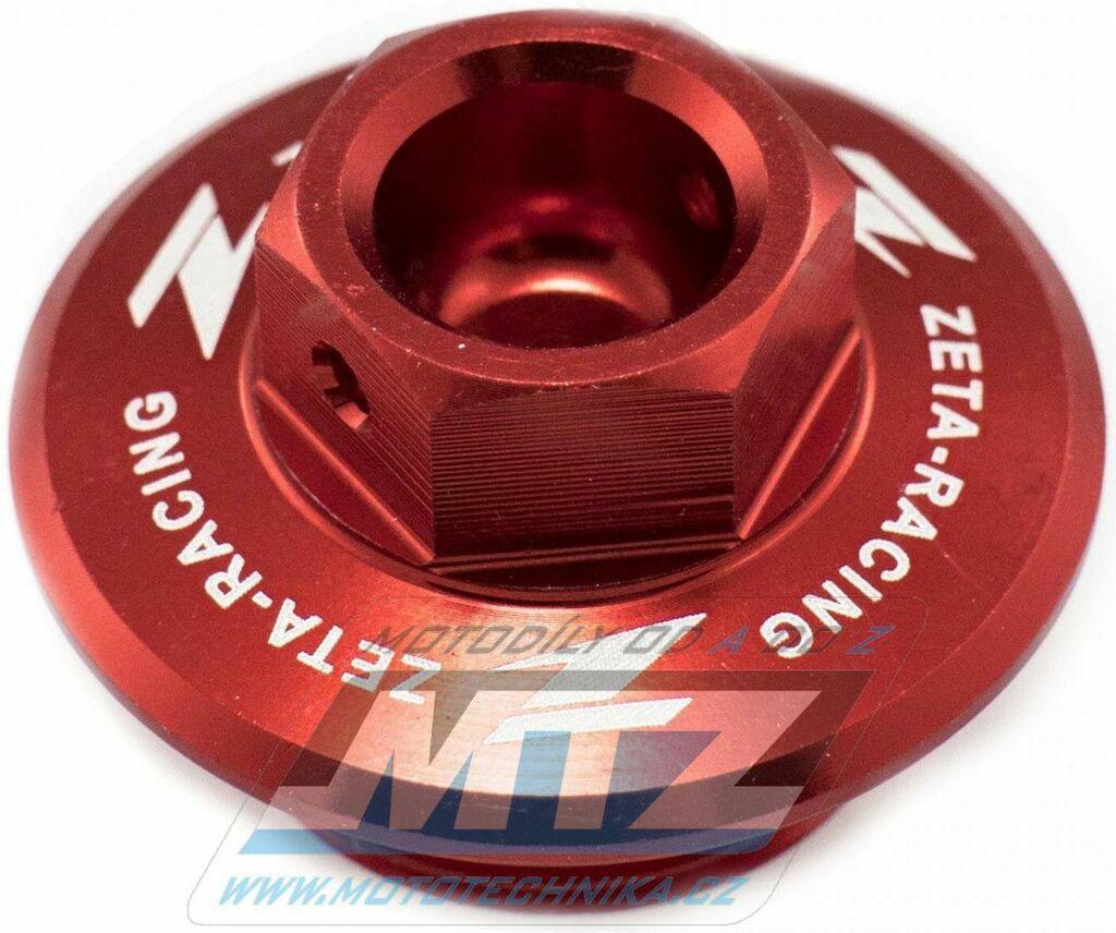 Obrázek produktu Zátka oleje nalévací ZETA - Suzuki RM80+RM85+RM125+RM250+RMZ250+RMZ450+RMX450Z + LTR450 + Yamaha XT250X+Tricker - červená (ze892210)