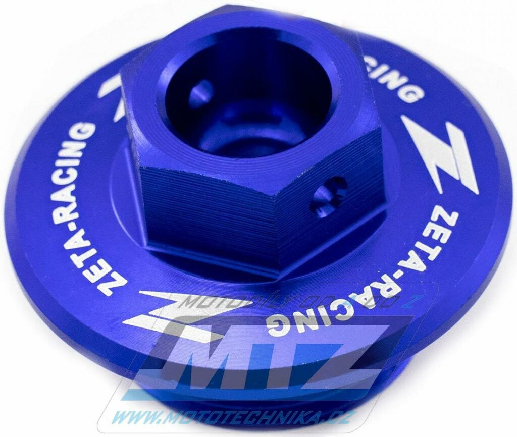 Obrázek produktu Zátka oleje nalévací ZETA - Suzuki RM80+RM85+RM125+RM250+RMZ250+RMZ450+RMX450Z + LTR450 + Yamaha XT250X+Tricker - modrá (ze892212)