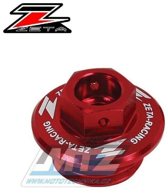 Obrázek produktu Zátka oleje nalévací ZETA - Kawasaki KX250+KXF250+KXF450+KLX450R + KFX450R + Suzuki RMZ250 + Husqvarna TE250+TC250 - červená (ze892310)