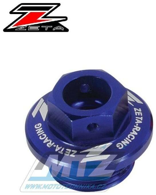 Obrázek produktu Zátka oleje nalévací ZETA - Kawasaki KX250+KXF250+KXF450+KLX450R + KFX450R + Suzuki RMZ250 + Husqvarna TE250+TC250 - modrá (ze892312)
