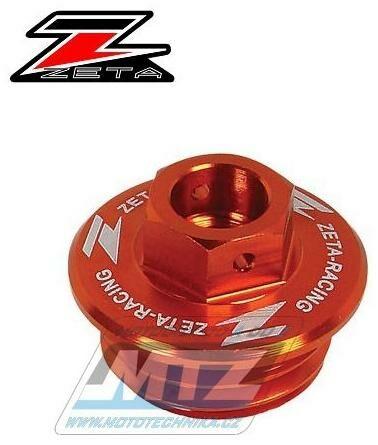 Obrázek produktu Zátka oleje nalévací ZETA - KTM 50SX+65SX + 85SX+125-300SX/EXC (2takt) + 250-690SX/EXC/SMC/SMR (4takt) + Husqvarna TC50+TC65+TC85 + TC+TE+TX (2takt) + FC+FE+FX+FS (4takt) + 701 - oranžová (ze892416)
