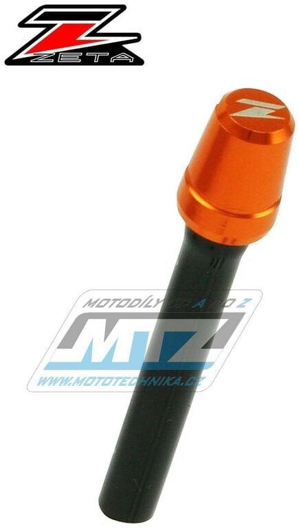 Obrázek produktu Ventil víčka nádrže odvzdušňovací jednocestný (Alu-hliníkový) ZETA - oranžový (ze931010)