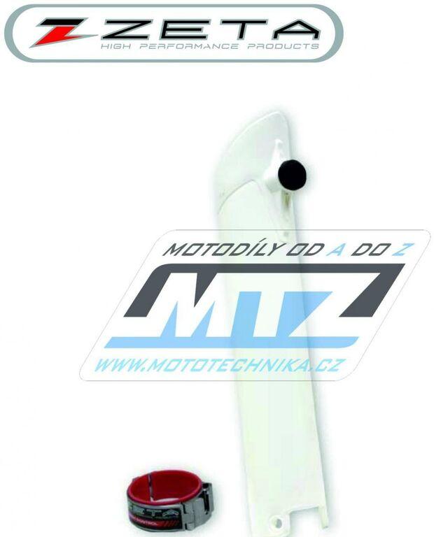 """Obrázek produktu Kryt vidlice + pomocník startu """"Launch Control"""" KTM 125+144+150+250SX + 250+350+450SXF / 07-14 - bílý (1strana) (kryt-89-7421)"""