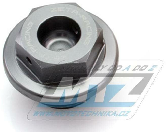 Obrázek produktu Zátka nalévací oleje M20x2,5 - Honda CBR250, CBR400, CBR600RR, CBR1000RR + Kawasaki ER6N, ER6F, Versys650, Ninja 400 - titanová (022269)