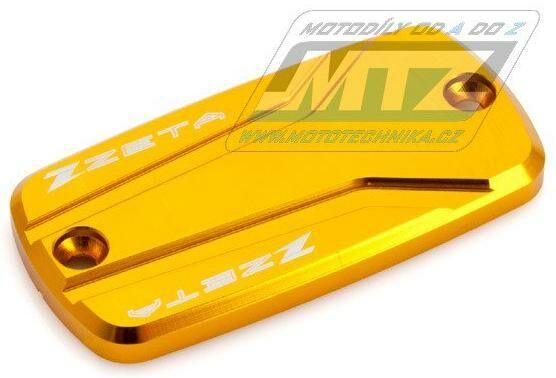 Obrázek produktu Kryt brzdové nádobky přední a spojkové víčko Honda CB600F, CBR600F, CB650F, CBR650F, NC700X, NC750X, VFR800, CBR1000F, CB1100, CBR1100XX, ST1100, VFR1200X, CB1300, ST1300 - zlatý (zs86-0124)